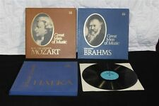 Time Life Great Men of Music Mozart, Brahms & Halka by Muza LP's Boxed Sets