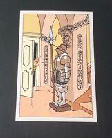 Carte postale Tintin n°30169. HERGÉ. MOULINSART
