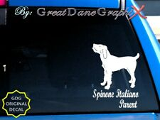 Spinone Italiano -Mom -Dad -Parent(s) Vinyl Decal Sticker -Color -High Quality