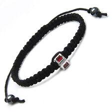 Neu Shamballa Armband 925 Silber Rot Zirkonia  Bead 4,6 Gramm #108