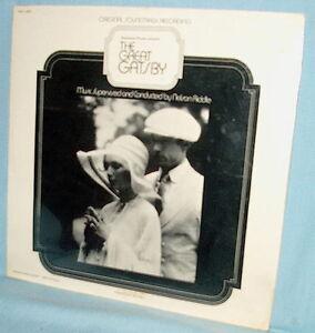 LP FACTORY SEALED Soundtrack odd version GREAT GATSBY PAS 1-0002 Nelson Riddle