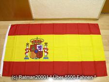 Fahnen Flagge Spanien - 90 x 150 cm