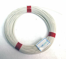 5x1m φ 4.5mm Silicon Fiber Glass Insulated Tube Sleeve UL 1500V VW-1 180℃ White