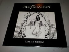 """RESTORATION - TEARS & RIBBONS - 1992 - MADE IN ENGLAND - 12"""" - EP - NIGHTBREED -"""