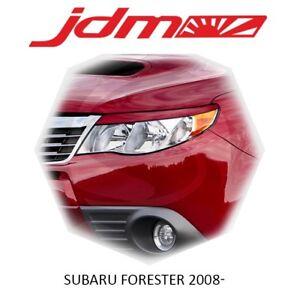 For Subaru Forester 2008-2012 SH5 SH9 Eyebrows Eyelids Eyeline Unpainted 2 pcs