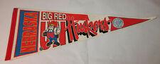 Vintage Nebraska Big Red Huskers Sports Pennant Flag Rare College NCAA 30''