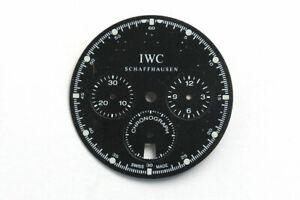 IWC Chronographen Zifferblatt black Dial schwarz Ø 27,6 mm ( X54 )