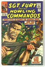 SGT FURY & HOWLING COMMANDOS #23 Burma Road Fight! Marvel Comic Book ~ VG