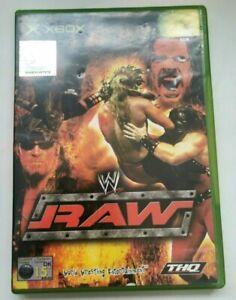 WWE Raw Original Microsoft Xbox Game