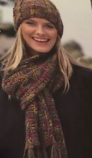 FCg35 - Knitting Pattern - Lady's Chunky Warm Hat & Scarf - Unisex Adult