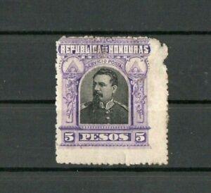 [A088] Honduras 31/7/1891 President Luis Bogran 5P used.