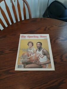 JANUARY 20,1979-THE SPORTING NEWS-PAUL WESTPHAL & WALTER DAVIS OF THE SUNS(MINT)