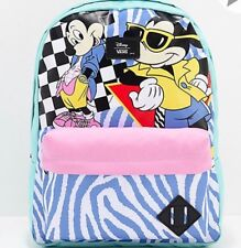 0e52a66f60 NWT VANS Disney Old Skool II BACKPACK School Book Bag MICKEY S 90TH Multi  RARE
