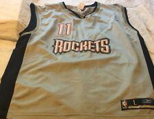 d226c5a88 Houston Rockets Yao Ming Men s Jersey  11 L Reebok Special Silver Retro  Large