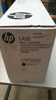 Genuine HP 645A or  C9730AC For LaserJet 5500/5550,Boxes have tape marks on them