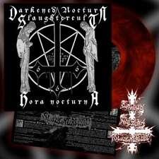 DARKENED NOCTURN SLAUGHTERCULT - Hora Nocturna [GALAXY RED/BLACK Vinyl] LP