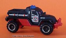2015 Matchbox Loose Road Raider Black Urban Tactical Police Mission Force Ex