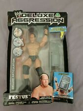 WWE Action-Figur Deluxe Aggression - Festus mit Stuhl - 2008 Jakks 93809 Ovp