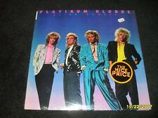 PLATNIUM BLONDE ALIEN SHORES LP VINYL FACTORY SEALED  EPIC PE40147