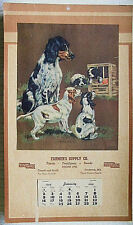 Farmers Supply Co 1949 Frederick Md Advertising Calendar  - Carroll and South