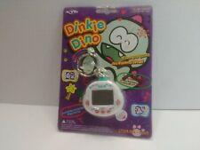 Original RakuRaku DinoKun Dinkie Dino Electronic Virtual Pet TK-910 (White)