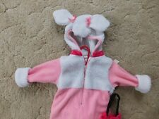 """Cute """"Poodle"""" costume/bunting, infant size 6-9 months"""