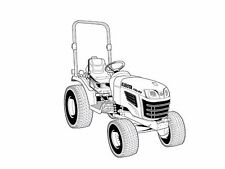 Kubota B2320 B2620 B2920 Operation Manual for Tractor Service Repair Maintenance