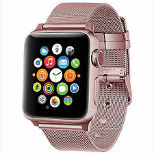 For Apple Watch Buckle Strap Band Series 1 2 3 Stainless Steel Bracelet 38/42mm
