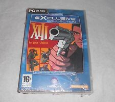 XIII le jeux video PC neuf sous emballage + notice