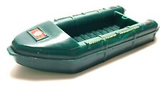 Vintage Collectible Britains Ltd Army Boat Dinghy Plastic Green Toy 1973 13cm