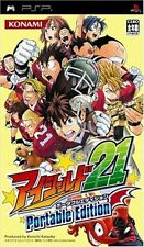 Used PSP Eyeshield 21 Portable Edition KONAMI   SONY PLAYSTATION JAPAN IMPORT