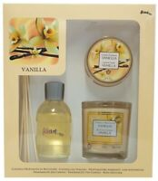 Prices Candles Gift Set of 2 Candle and Reed Diffuser Aladino Vanilla Scent NEW