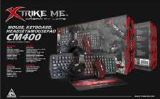 RGB GAMING KEYBOARD CM400 Mousepad +Mouse+ GAMING COMPLETE BUNDLE