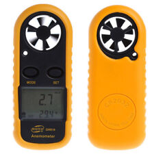 Digitale Wind-Skala Windmesser Anemometer Temperatur Messgerät Meter Werkzeug