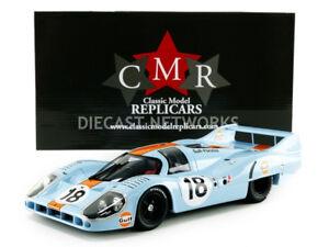 CMR Porsche 917 Long Queue Gulf le Mans 1971 Rodriguez / Oliver #18 1/18 Echelle