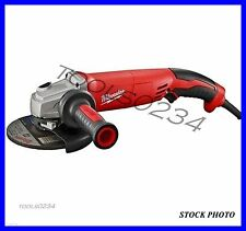 "Milwaukee 6124-31 Small Angle Grinder 13 Amp 5"" Trigger Grip No-Lock"