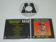 STEVIE WONDER/HOTTER THAN JULY(MOTOWN 530 044-2) CD ALBUM