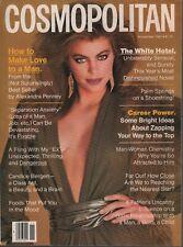 Cosmopolitan Revue Novembre 1981 Lisa Vale Francesco Scavullo 080819AME