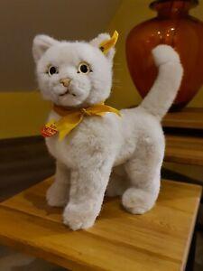 steiff 2735/26  - Sulla Katze 26 cm creme stehend neuwertig