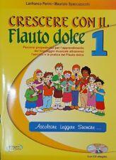 PERINI - SPACCAZOCCHI - Crescere con il flauto  1 - ed P.S.