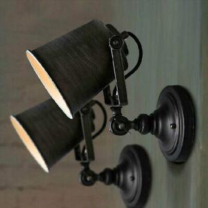 Retro Industrial Loft Rustikale Wandleuchte Befestigungen Veranda/Bar Lampe