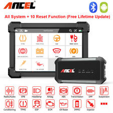 Bluetooth OBD2 Diagnostic Tool Wifi Automotive Scanner All System & 10'' Tablet