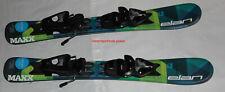 Elan 2021 Kids boys Skis 70cm Elan Maxx with size adjustable Bindings set NEW