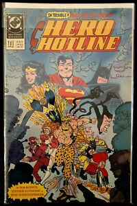 Hero Hotline Vol. 1 #1; Grading: FN