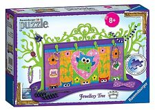 Funky Owls Jewellery Tree 3D Puzzle 108 Piece Ravensburger Jigsaw