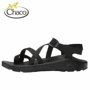 Mens Chaco Z2 Classic Sports Sandal BLACK Polyester Straps Size 7
