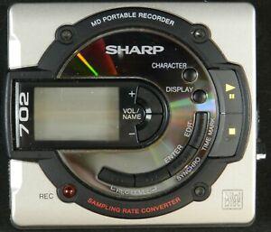 Sharp 702 MiniDisc Player/Recorder - Untested