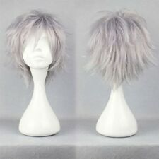 Hot Pixie Cosplay Anime Short Wig Black Brown Blonde Straight Unisex Full Wigs h