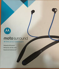 Motorola Moto Surround Wireless Earbuds Mint Condition
