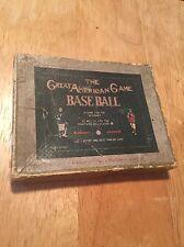 "VINTAGE BASEBALL GAME - ""The Great American Game"" 1906 Pocket Edition Sample"